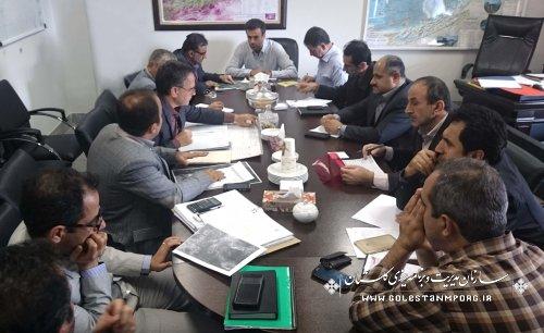 جلسه هم اندیشی آبرسانی به شهرهای شرق استان