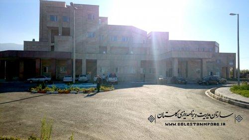 موانع بهرهبرداری از پروژه بیمارستان 96 تختخوابی بندرگز رفع میشود