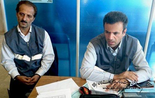 ارائه گزارشی از روند اجرای سرشماری آزمایشی نفوس و مسکن استان (شهرستان ترکمن)