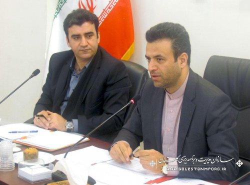 هشتمین جلسه کارگروه ستاد درآمد و تجهیز منابع استان