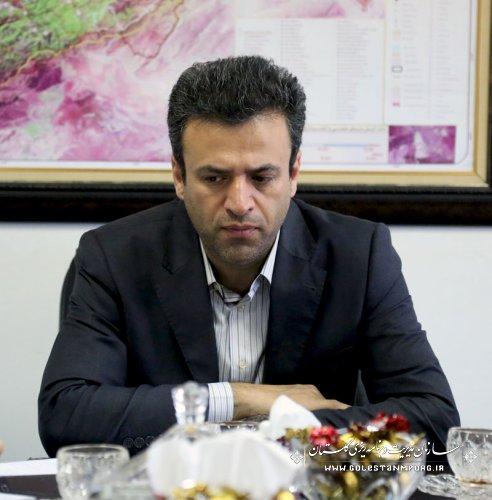جلسه هماهنگی نشست منطقه ای مدیران مراکز آموزش وپژوهش های توسعه و آینده نگری استان های کشور در سازمان مدیریت و برنامه ریزی استان گلستان
