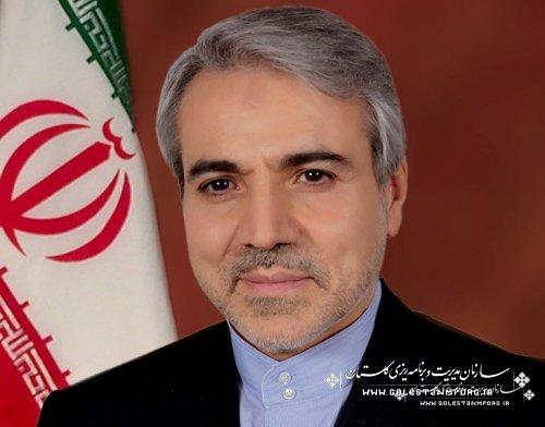 سفر دکتر نوبخت به استان گلستان