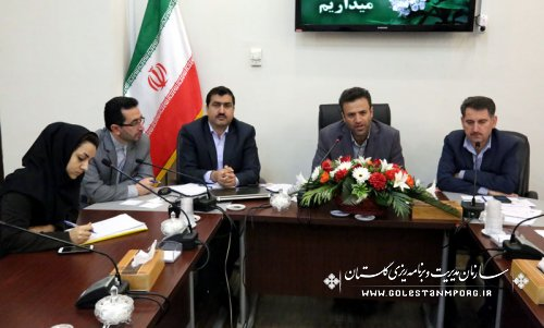 برگزاری جلسه دبیرخانه ستاد اقتصاد مقاومتی استان