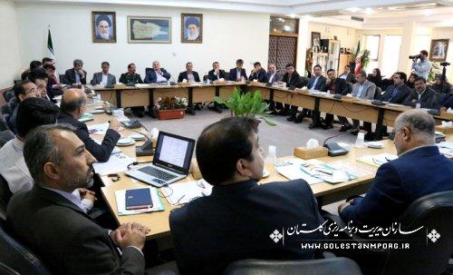 ششمین جلسه ستاد اقتصاد مقاومتی استان گلستان
