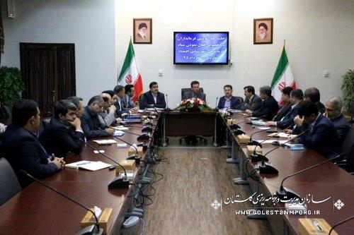 اولین جلسه هم اندیشی دبیر خانه ستاد اقتصادمقاومتی استان با فرمانداران استان