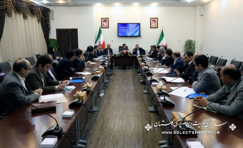 جلسه هماهنگی بین کمیته های ذیل ستاد فرماندهی اقتصاد مقاومتی استان