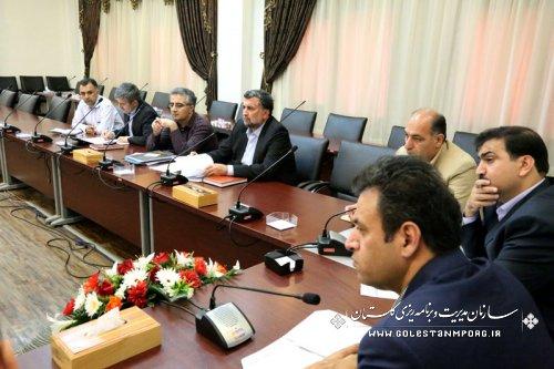 دومین جلسه نحوه اجرای زهکشی اراضی 280 هزار هکتاری