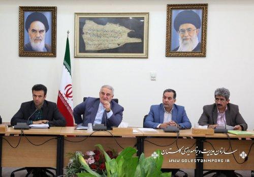 برگزاری هشتمین جلسه ستاد فرماندهی اقتصاد مقاومتی استان گلستان
