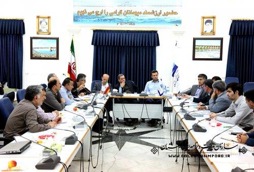 برگزاری جلسه اجرای زهکشی اراضی 280 هزار هکتاری در شرکت آب منطقه ای استان: