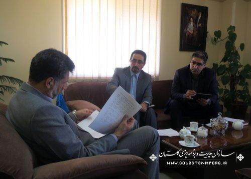 اولین جلسه هماهنگی سرشماری نفوس و مسکن