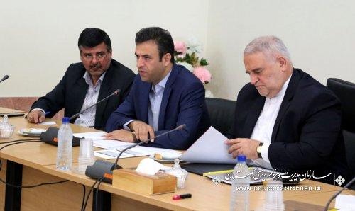 سیزدهمین جلسه ستاد راهبردی اقتصاد مقاومتی استان گلستان برگزار گردید