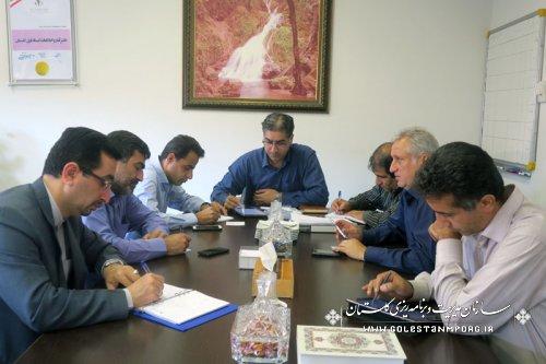 سومین جلسه هماهنگی کمیته های اجرایی ستاد سرشماری استان گلستان برگزار گردید.