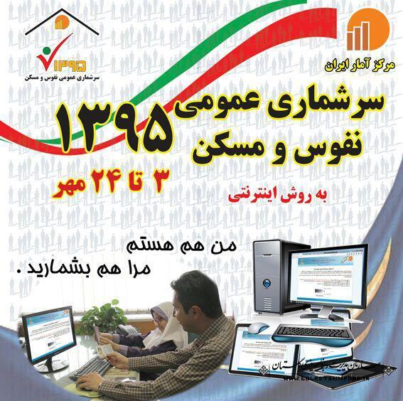 شماره تماس های ستاد سرشماری عمومی نفوس ومسکن استان