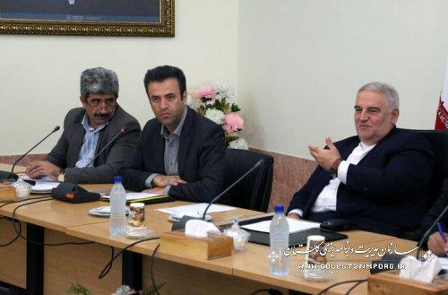 پانزدهمین جلسه ستاد فرماندهی اقتصاد مقاومتی استان گلستان