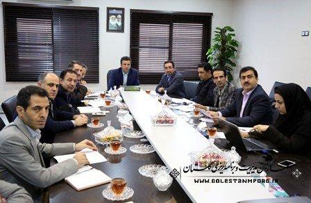 جلسه هماهنگی دبیرخانه اقتصاد مقاومتی در خصوص سفر وزیر تعاون ، کارورفاه اجتماعی برگزار گردید.