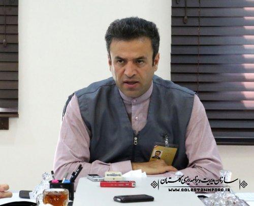 پیام رئیس سازمان برنامه و بودجه استان گلستان در خصوص تبریک اول  آبانماه روزآمار و برنامه ریزی