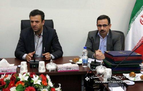رگزاری جلسه تقدیر و تشکر از ناظرین طرح تکریم و کارشناسان ارزیابی عملکرد دستگاههای اجرایی استان درسال 1394: