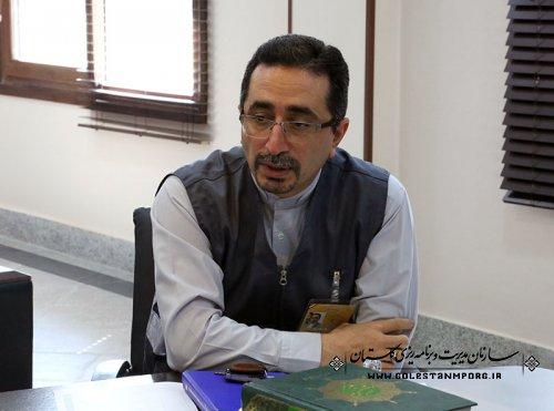 برگزاری آزمون مرحله سوم آموزشی رده های مامور آمارگیر در استان گلستان