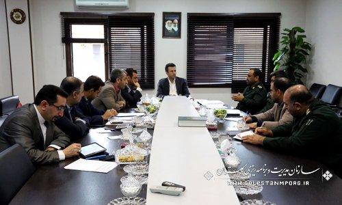 برگزاری جلسه کمیته برنامه ریزی  اجلاسیه 4000 شهید استان گلستان