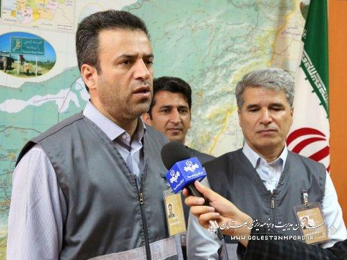 بازید مدیر ستاد سرشماری از ستاد سرشماری عمومی نفوس ومسکن شهرستان آق قلا