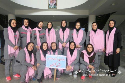 کسب مقام نائب قهرمانی در اولین دوره مسابقات والیبال بانوان دستگاههای اجرایی استان