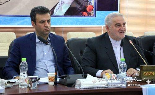 استاندار گلستان :سند آمایش سرزمین استان یکی از اسناد اساسی جهت مدیریت کلان است،