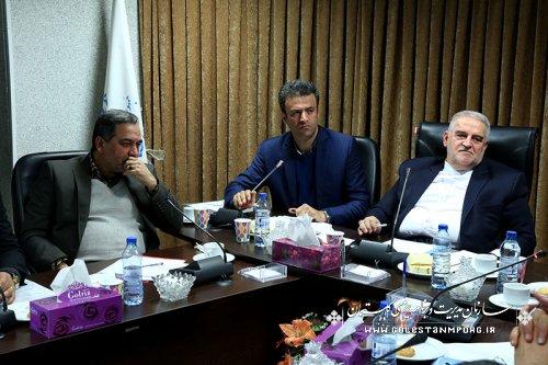 برگزاری بیستمین جلسه ستاد اقتصاد مقاومتی استان گلستان