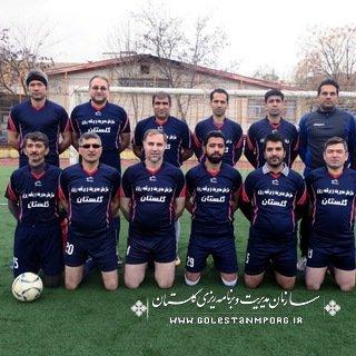 یک برد شیرین در دور دوم مسابقات فوتبال کارکنان دستگاههای اجرایی استان