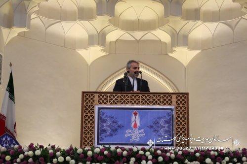 سخنرانی دکتر نوبخت در مصلی نماز جمعه با موضوع یوم الله 22 بهمن