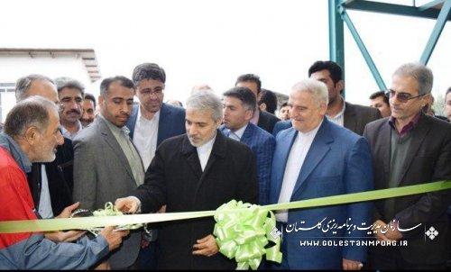 افتتاح کارخانه  بهاران پیمان گلستان توسط دکتر نوبخت معاون محترم رئیس جمهور