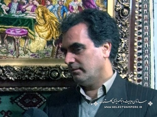 بازدید مسئولین نهاد ریاست جمهوری از نمایشگاه خوشه فرش و صنایع دستی استان گلستان در سازمان برنامه وبودجه کشور