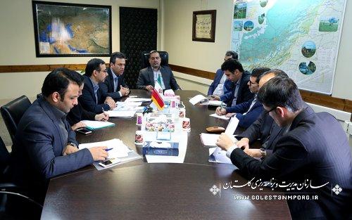 چهارمین جلسه کارگروه ساماندهی فضاهای اداری استان