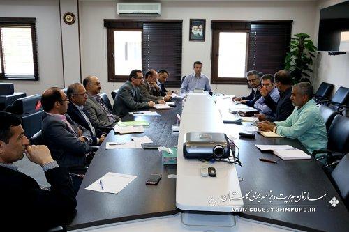 دومین جلسه بررسی   پروژه  اقتصاد مقاومتی آب بندان  روستای محمد آباد با حضور رئیس سازمان ومسئولین استان