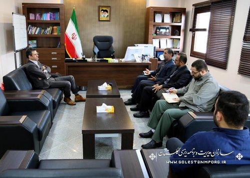 جلسه رئیس بنیاد حفظ آثار دفاع مقدس با رئیس سازمان
