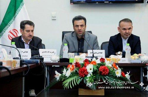 جلسه هم اندیشی سازمان مدیریت وبرنامه ریزی با فرمانداران و دستگاههای اجرایی استان