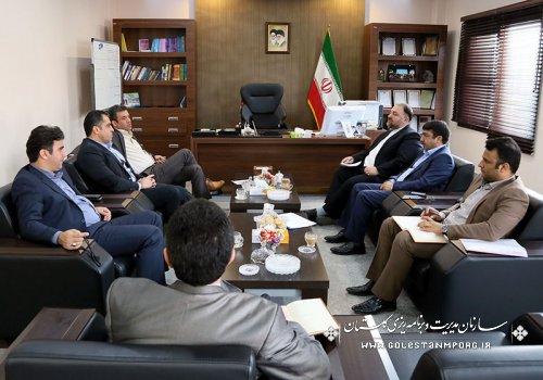 ملاقات نماینده مردم شریف گرگان و آق قلا با رئیس سازمان