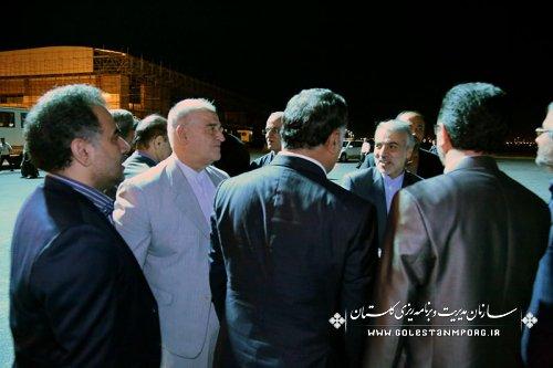 حضور دکتر نوبخت معاون محترم رئیس جمهور ورئیس سازمان برنامه وبودجه کشور در استان گلستان
