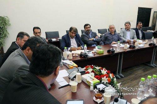 جلسه کارگروه توسعه مدیریت سازمان با همکاران معاونت آمار واطلاعات سازمان