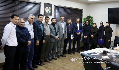 تقدیر وتشکر رئیس سازمان از تیم ورزشی اعزامی به جشنواره ورزشی کارکنان سازمان مدیریت وبرنامه ریزی استانها