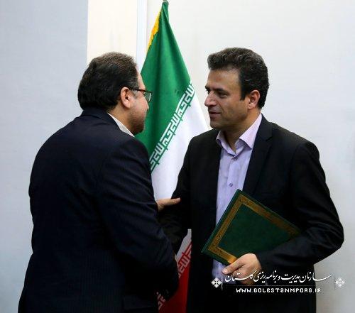 جلسه کارشناسی سازمان مدیریت وبرنامه ریزی استان گلستان