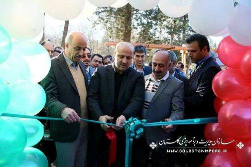 حضور رئیس سازمان مدیریت و برنامه ریزی استان در آیین افتتاح خانه طبیعت گرگان