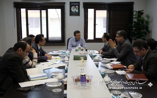 جلسه کارگروه توسعه مدیریت سازمان