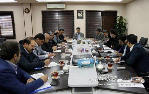 نهمین جلسه کارگروه درآمد و تجهیز منابع استانی برگزار شد
