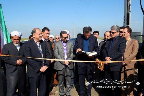 افتتاح متمرکز پروژه های عمرانی، اقتصادی و اشتغالزای شهرستان ترکمن با حضور مهندس پیش قدم به مناسبت ایام الله دهه فجر