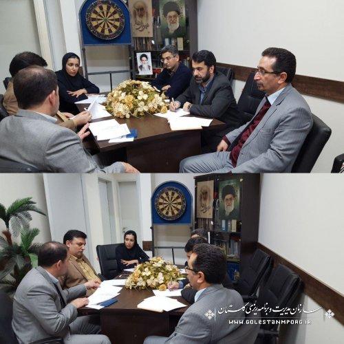 نخستین نشست هماهنگی  هیات رییسه شورای  روابط عمومی های استان گلستان برگزار شد