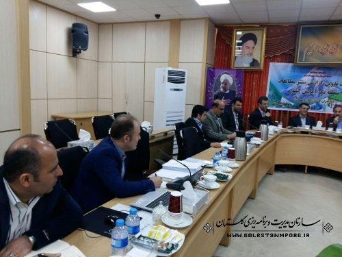 حضور رئیس سازمان مدیریت و برنامه ریزی استان در نشست تدوین گزارش سنتز و مطالعات منطقه یک آمایش کشور