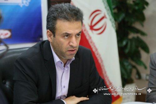 اعتبارات عمرانی بند (ز) استان گلستان صد در صد ابلاغ شد