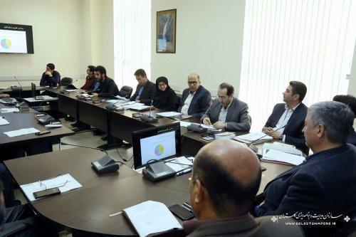 دومین جلسه شورای فنی استان در سال 97 برگزار شد