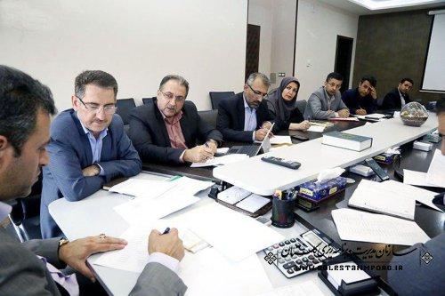 پروژه های مهم و محوری اقتصاد مقاومتی استان مورد بررسی قرار گرفت