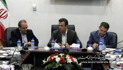 دومین جلسه کارگروه آمایش، محیط زیست، آمار و توسعه پایدار استان برگزار شد